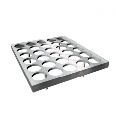 Cup Holder-30 holes (per-serving snow ice blocks)
